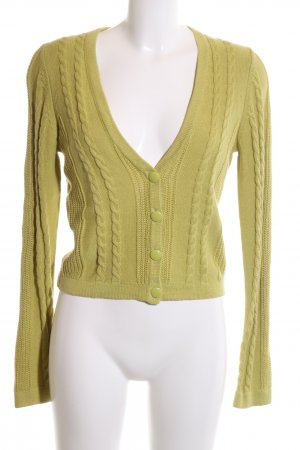 Forever 21 Knitted Bolero green cable stitch casual look