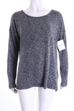 Forever 21 Strickshirt schwarz-weiß Casual-Look