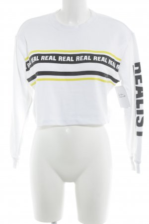 Forever 21 Sweat Shirt printed lettering athletic style