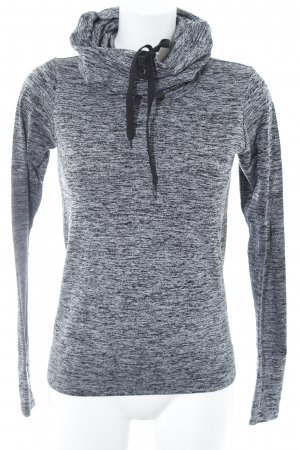 Forever 21 Sweatshirt schwarz-grau meliert sportlicher Stil