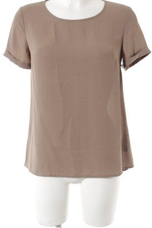 Forever 21 T-Shirt hellbraun schlichter Stil