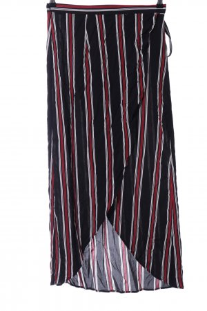 Forever 21 Wraparound Skirt striped pattern casual look