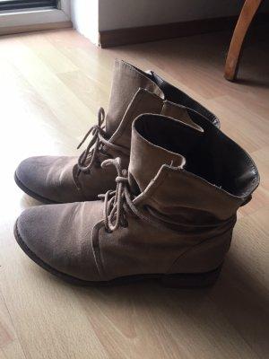 Forever New Desert Boots beige-grey brown