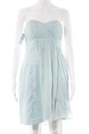 Forever New Ball Dress baby blue silk