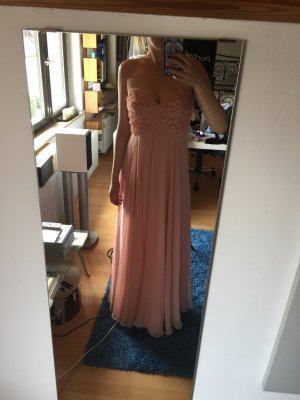 Forever Unique Abendkleid lachsrosa Abiball