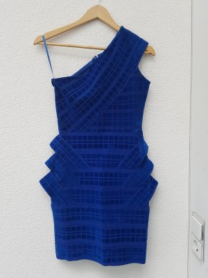 Forever Unique Bodycon Dress Blau