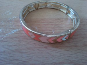 Forever21 Armband gold peach