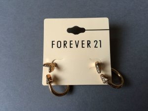 Forever21 Ohrringe Arrow