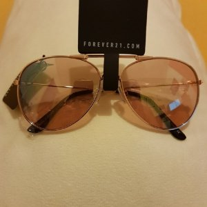 Forever 21 Sunglasses light brown-sand brown