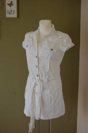 Forever 21 Abito blusa camicia bianco