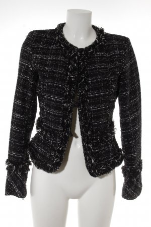 form e couleur Tweedblazer schwarz-weiß Business-Look