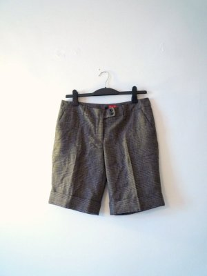 *Formal Shorts* Kurze Hose, warmer Karo-Stoff, von Castro