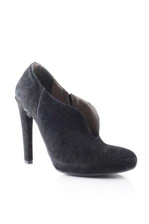 Formentini Reißverschluss-Stiefeletten schwarz Street-Fashion-Look