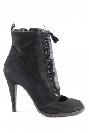 Fornarina Ankle Boots schwarz Elegant