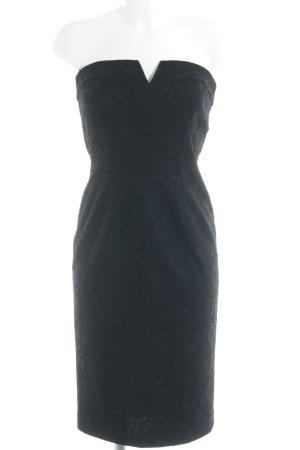 Fornarina Vestido bandeau negro elegante