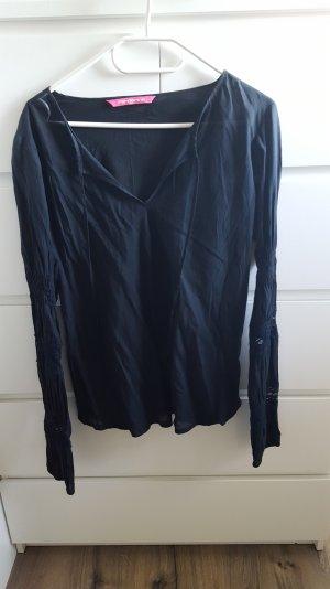Fornarina bluse in schwarz