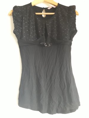 Fornarina. Bluse. schwarz.