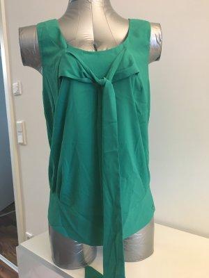 Fornarina Bluse / Top im Blusenstil, Gr M, grün