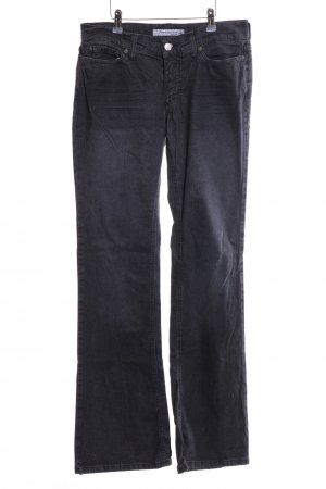 Fornarina Boot Cut Jeans schwarz Casual-Look