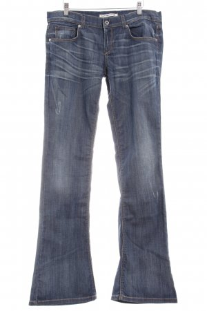Fornarina Boot Cut Jeans blau Casual-Look