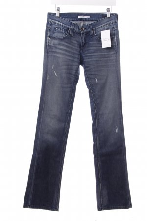 Fornarina Boot Cut Jeans dunkelblau Casual-Look