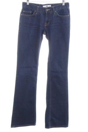 Fornarina Boot Cut Jeans dunkelblau Casual-Look