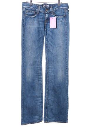 Fornarina Boot Cut Jeans dunkelblau Jeans-Optik