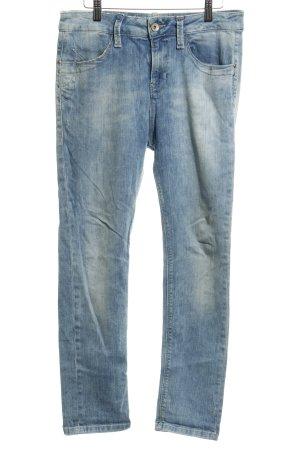 Fornarina Jeans boyfriend bleuet style délavé