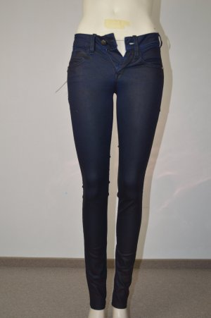 Fornarina coole Jeans schwarz blau schimmernd ~ NEU W25