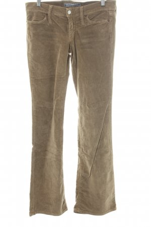 Fornarina Corduroy Trousers grey brown casual look