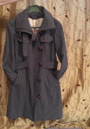 Fornarina Damen Mantel S grau