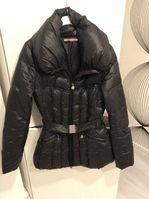 Fornarina Daunenjacke Winterjacke schwarz Gr. S 36 Jacke