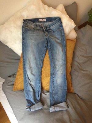 Fornarina Jeans boyfriend azzurro