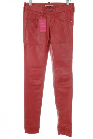 Fornarina Five-Pocket Trousers red matte look