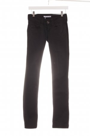 Fornarina Five-Pocket-Hose schwarz Casual-Look