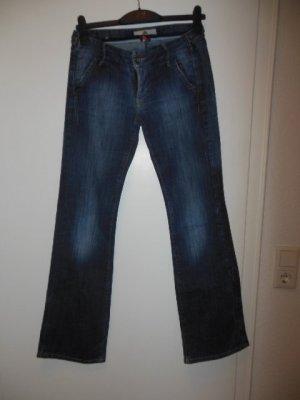 Fornarina Boot Cut spijkerbroek donkerblauw