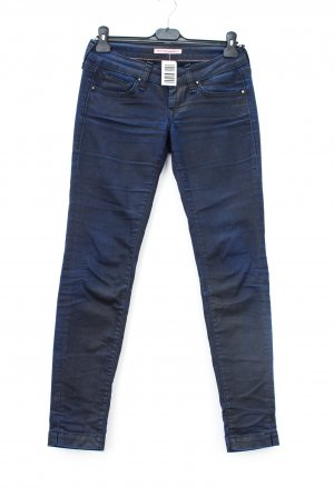 Fornarina Stretch jeans donkerblauw-zwart