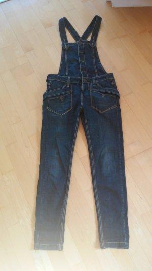 Fornarina Jeans-Latzhose Gr. M stretch