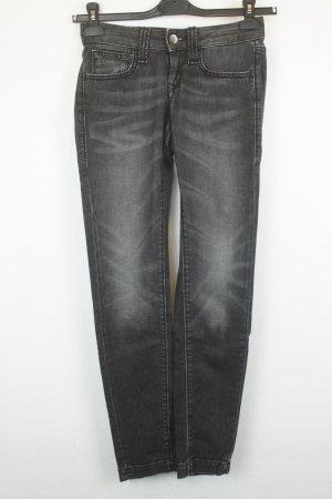 Fornarina Jeans Slim Fit Gr. 25 dunkelgrau