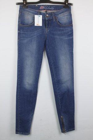 Fornarina Jeans Slim Fit Gr. 26 blau | Modell: Twiggy