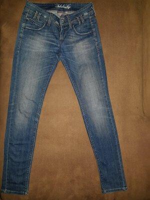 Fornarina Jeans slim skinny 27/S fast NEU