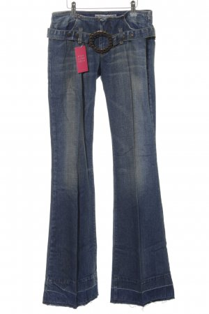Fornarina Denim Flares blue casual look