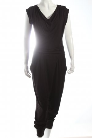 Fornarina Jumpsuit schwarz schlichter Stil