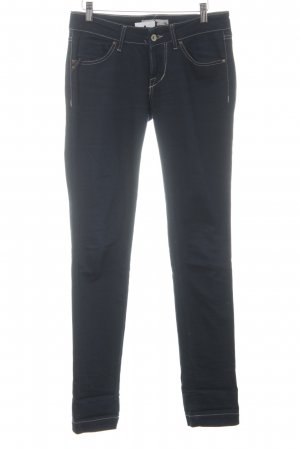 Fornarina Wortel jeans donkerblauw casual uitstraling