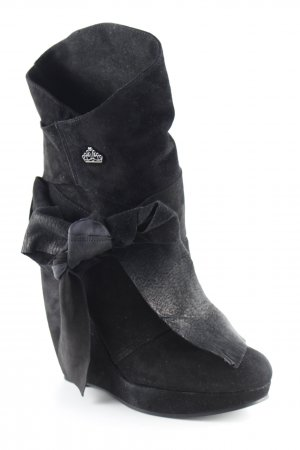 Fornarina Keil-Stiefeletten schwarz Elegant