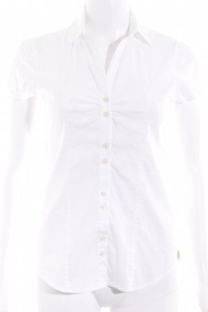 Fornarina Short Sleeve Shirt white business style