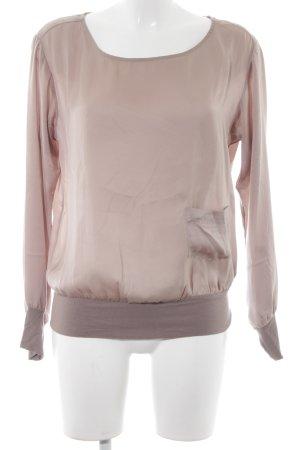 Fornarina Langarm-Bluse mehrfarbig extravaganter Stil