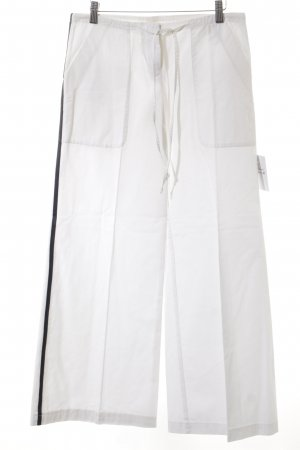 Fornarina Marlene Trousers white street-fashion look
