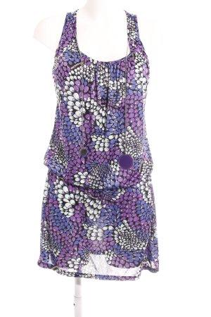 Fornarina Minikleid abstraktes Muster extravaganter Stil