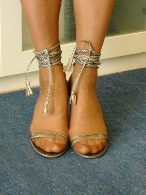 FORNARINA Sandaletten Gr 40 zum Schnüren top Zustand